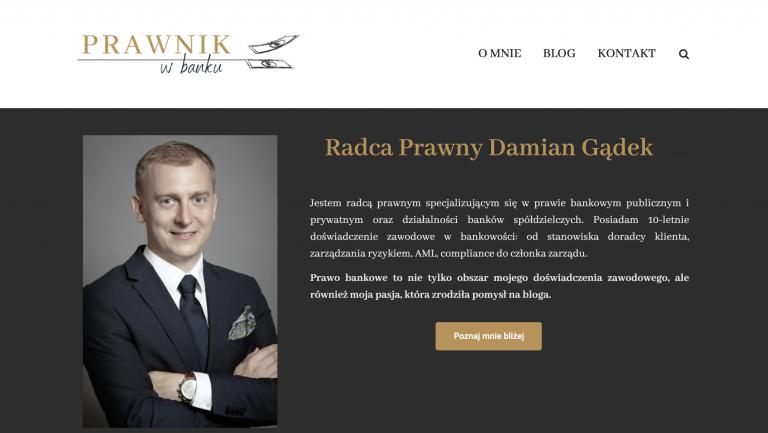 Prawnik w banku - blog